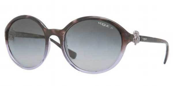 VOGUE Women Havana Frame Violet Lens Sunglasses VO2756-S 1996-T3 New w/ Case