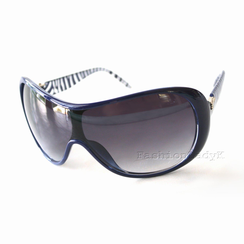 GUESS Women Blue Sunglasses GU7206 BL-35 New w/ Case