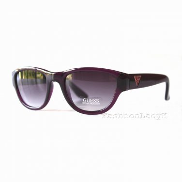 GUESS Women Raspberry Sunglasses GU7223 RSP-35 New w/ Case