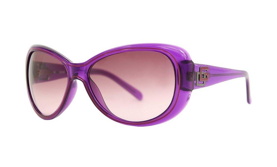 GUESS Women Purple Sunglasses GU7051 PUR-58 New w/ Case