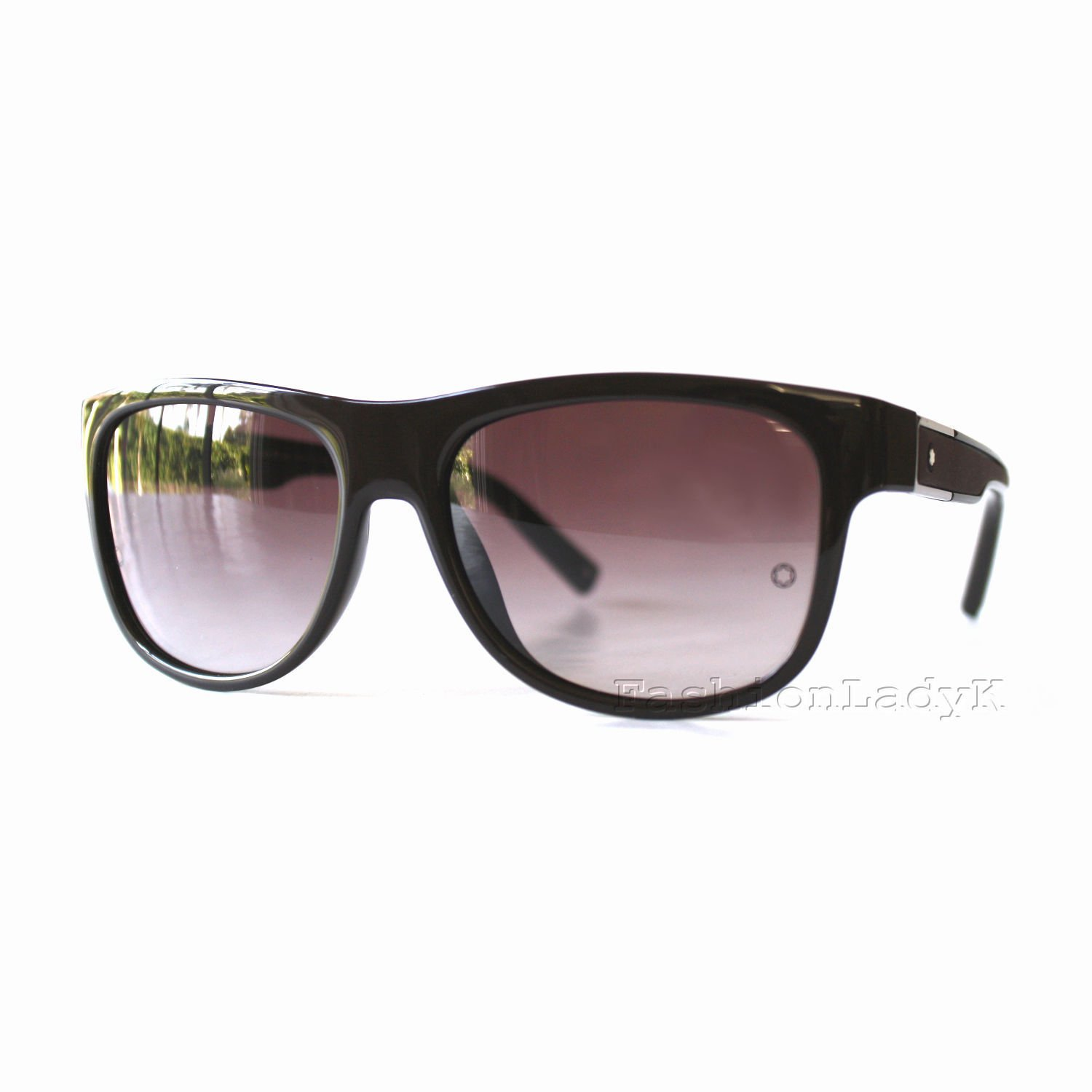 Mont Blanc Men Brown Sunglasses MB459S 40T New w/ Case ITALY