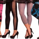 Holiday Women Costume Accessory Leggings Cute Sexy Party Black Blue Gray Pink