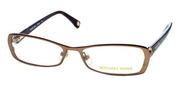 Michael Kors Women Copper Optical Eyeglasses Frame MK305 210 53mm New w/ Case