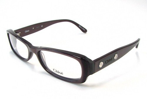 Chloe Women Purple Optical Eyeglasses Frame CL1165 C03 53mm New w/ Case FRANCE