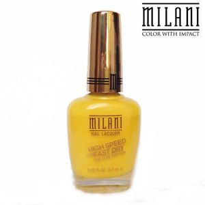 MILANI Nail Lacquer #07 (Yellow Whiz)