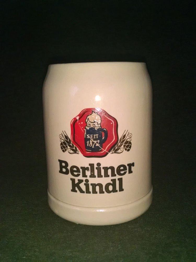 Berliner Kindl Ceramic Stein