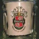 BECK'S Glass Mug