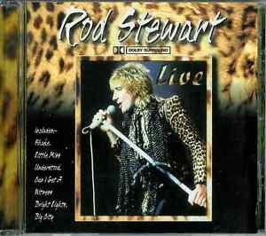Live by Rod Stewart (CD, 2000, Legacy)