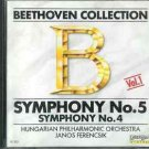 Beethooven Symphonies No. 4 and 5