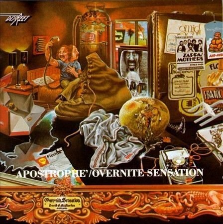 Apostrophe/Over-nite Sensation by Frank Zappa (CD, 1986, Ryko Distribution)
