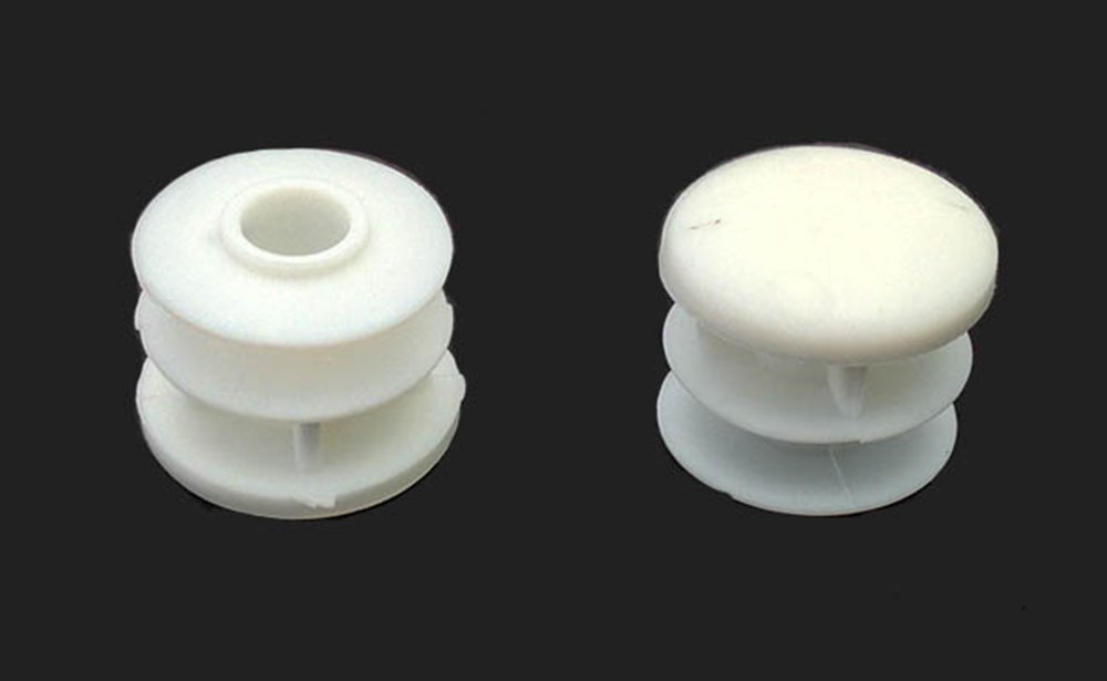 """8 3/4"""" Round Multi-Gauge Flat Glide Inserts for Tubes/Patio Furniture Legs"""