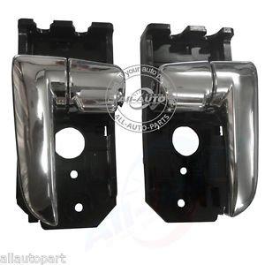 2pcs Front Rear Left Right Inside Door Handles For Kia Spectra Cerato 03-09