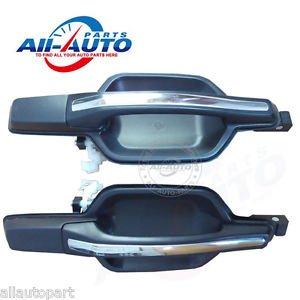 2pcs rear left rear right outside car door handles for Pajero el montero 01-06