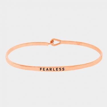Fearless Bracelet - rose gold