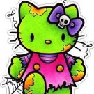 Hello Kitty Zombie Decal
