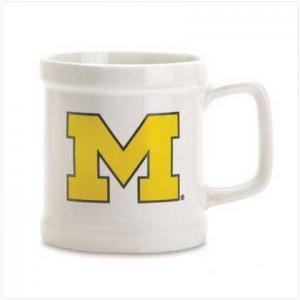 Michigan Decal Mug-Ceramic