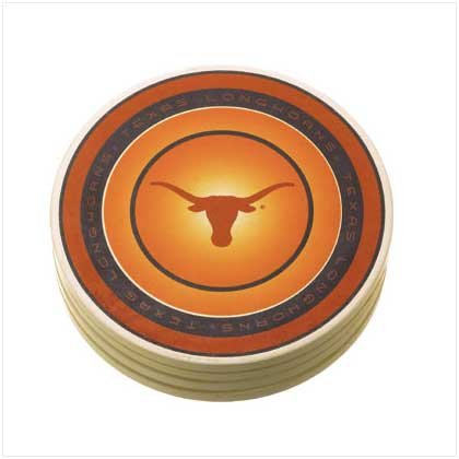 Univ of Texas Absorbent Coasters