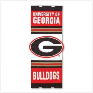 Univ of Georgia Door Flag