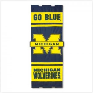 Univ of Michigan Door Flag