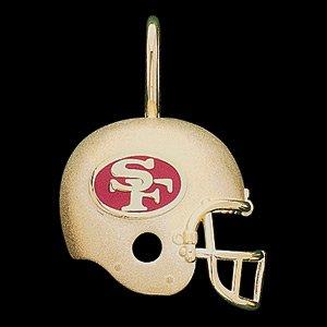 14 K Gold NFL Team helmet pendant
