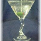 Item #: C30 - Z Stem Martini Gel Candle