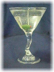 Item #: C30 - Z Stem Martini Gel Candle