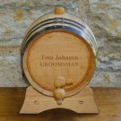 Mini-Oak Whiskey Barrel