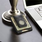 Personalized Leather Wallet & Money Clip