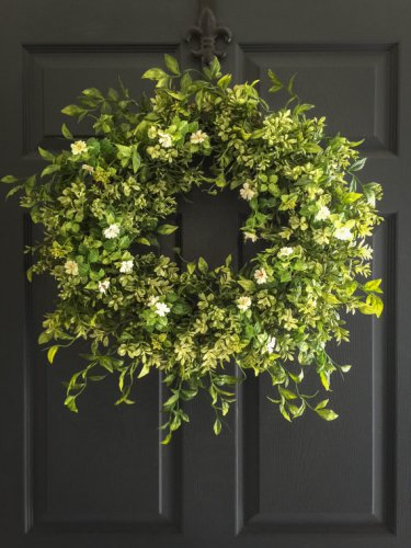 Display Wreath Year Round Indoors & Outdoors | Wall Decor | Front Door Wreaths | Office Decor