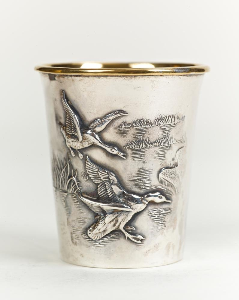 "Silver shot glass ""388"""