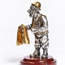 "Silver Figurine ""Jew hairdresser"""