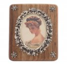 Wood&Silver Photo Frame Tenderness