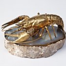 "Silver Statue figurine ""Crayfish"""