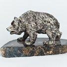 "Silver Figurine ""Bear"""