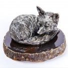 "Silver Figurine ""Fox"""