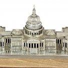 """Silver statue figurine """"Capitol"""""""