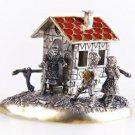 """Silver Souvenir """"Gingerbread house"""""""