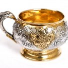 "Silver cup ""Birds and flowers"""