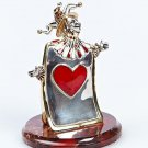 "Silver sculpture ""Hearts"""