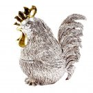 "Silver Casket ""Rooster"""