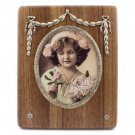Wood and Silver Photo Frame