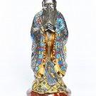 """Silver Statue figurine """"Confucius"""""""