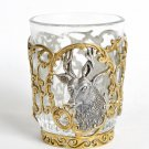 "Silver Shot glass ""Hunting"""