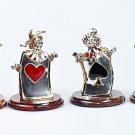 """Silver Statues """"Funny Cards"""""""