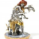 "Silver statue figurine ""Summer Girl"""