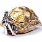 "Silver ashtray ""Girl-Turtle"""