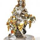 "Silver statue figurine ""Autumn Girl"""