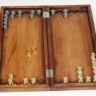 "Silver Backgammon game ""Rusichi against Tatar-Mongol"""