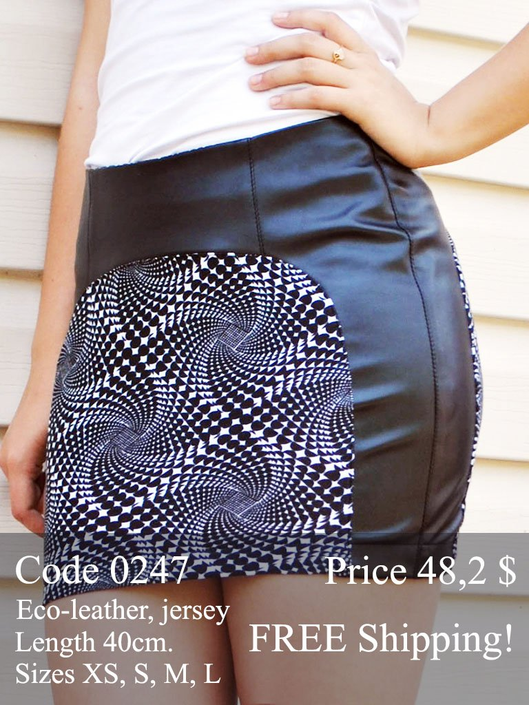 Summer mini skirt