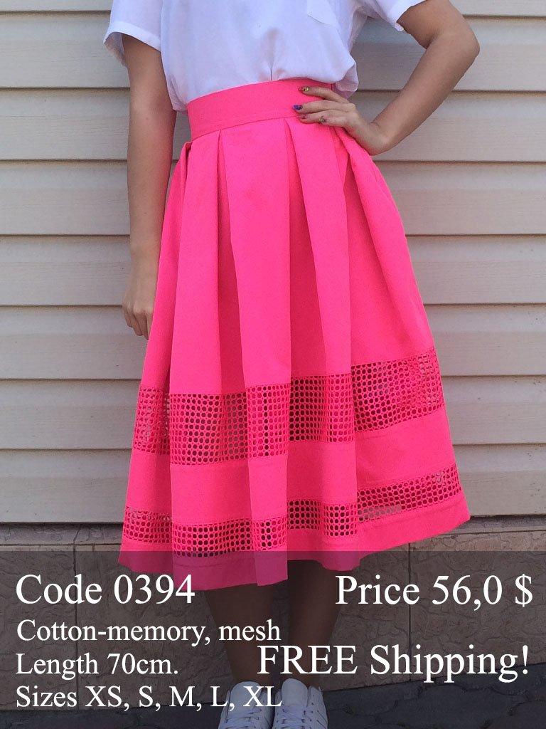 Summer midi skirt